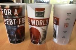 Eco cup réutilisable - EOS France